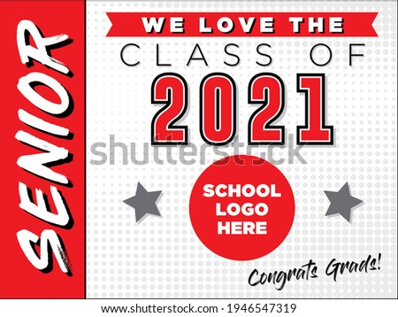 """Senior Sign Template 