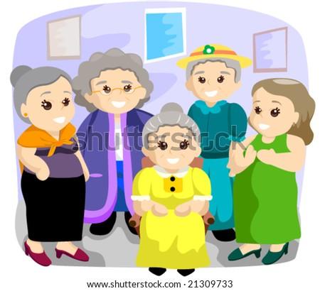 Seniors - Vector