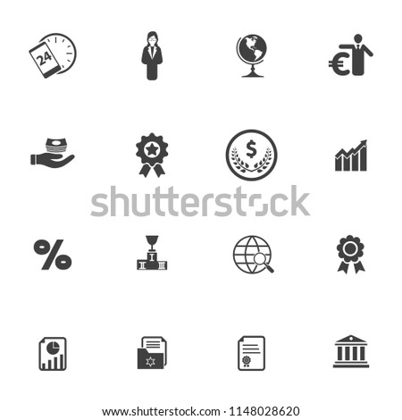 seo and online marketing icons set, vector web business icons, digital media design icons