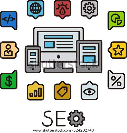 SEO component infographic