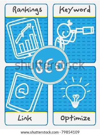 SEO Concept vector