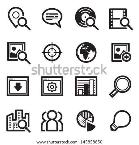 SEO Icons Set 1 - Simpla Series
