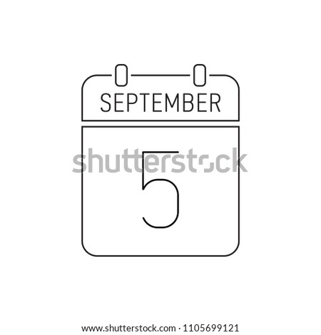 september 5 special date of