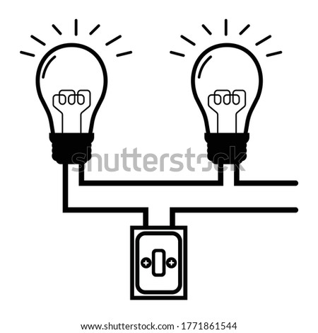 Series Circuit of electricity, Sample for circuit education
