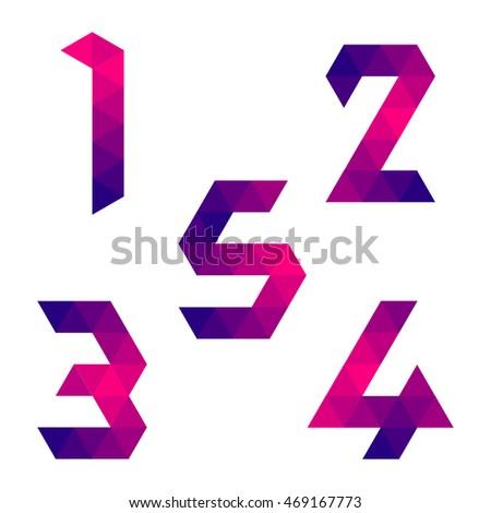 series of numbers 1  2  3  4  5