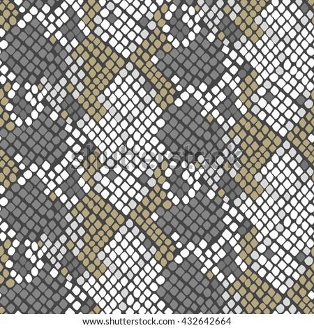 serpent skin seamless vector