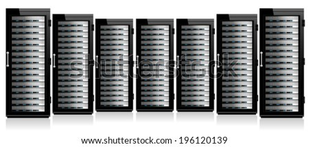 Servers in Cabinets