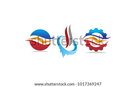 Air Conditioning Logo Template Download Free Vector Art Stock