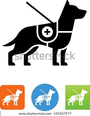 Service Dog Icon