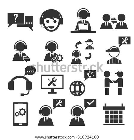 service icon set