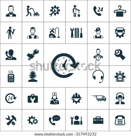 service Icons Vector set