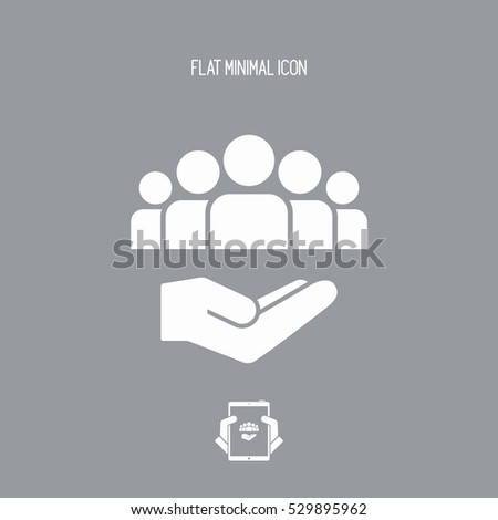 Service offer - Community service - Minimal icon