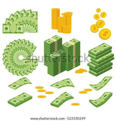 set a various kind of money