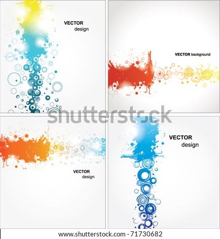 stock-vector-set-abstract-illustration