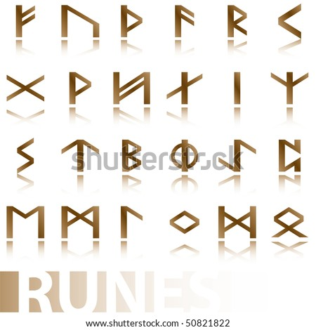 stock-vector-set-ancient-runes-vector-illustration-icons-symbols