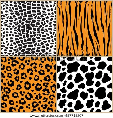 set animal pattern texture