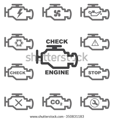 check engine light symbol  check  free engine image for