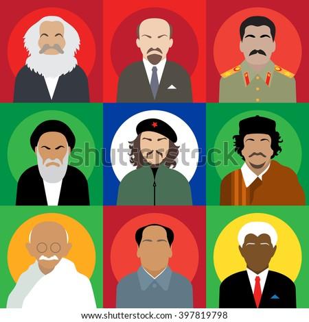 set avatars revolutionaries