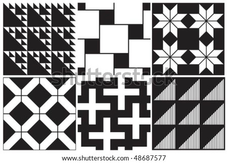 black and white patterns. lack and white Patterns