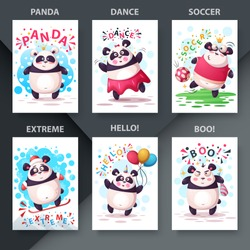 Set cartoon animals. Illustration for your idea. Vector eps 10