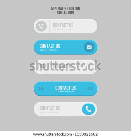 """Set """"Contact Us"""" Buttons #1130821682"""