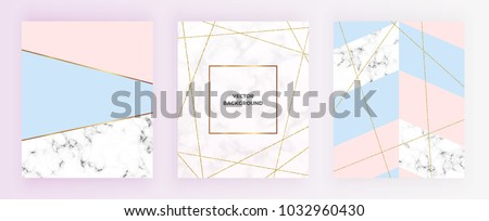 stock-vector-set-cover-geometric-designs-with-gold-glitter-line-cream-blue-pastel-pink-colors-and-marble