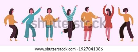 set dancing girls  girls at the