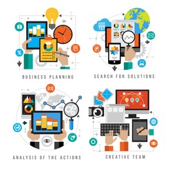 Set design business planning, search for solutions, analysis of the action, craative team. Set design for mobile web services and applications