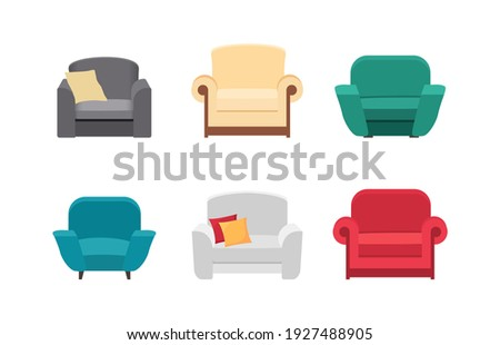 set different armchair  for
