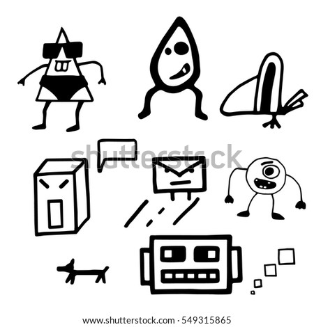 set doodles