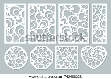 laser cut circles download free vector art stock graphics images