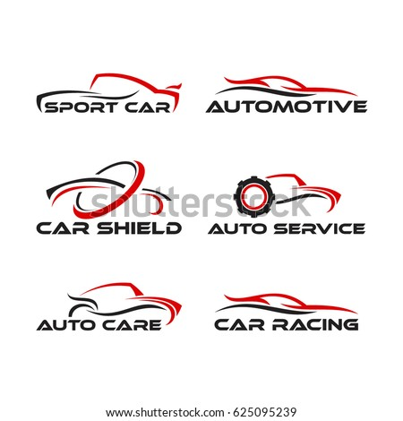 set f generic car logo designs