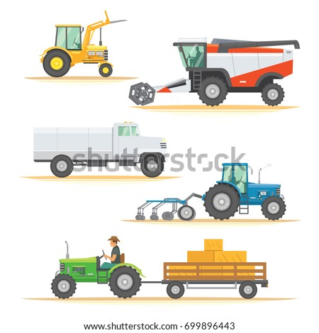 set farm machinery