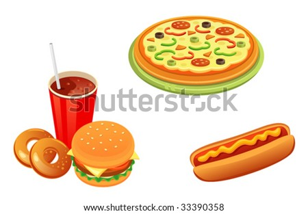 Set fFast food