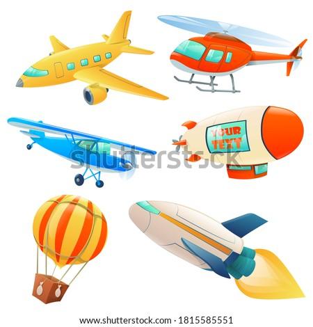 set for air transportation