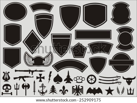 set for designing of military
