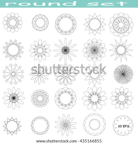 set  fractal element vector