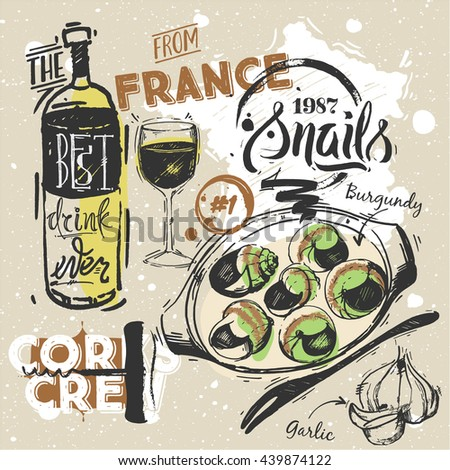 set french traditional cuisine