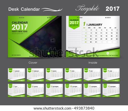 Plantilla de calendario de escritorio Vector libre - Descargue ...