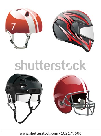 set helmets