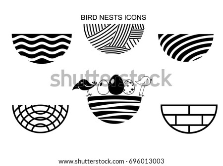 Line Drawing Nest : Bird nest drawing at getdrawings free for personal use