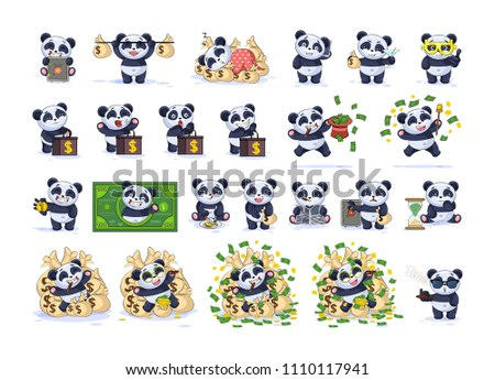 Panda Emoticon Vectors Download Free Vector Art Stock Graphics