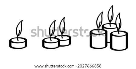 set lamp candle day on 11