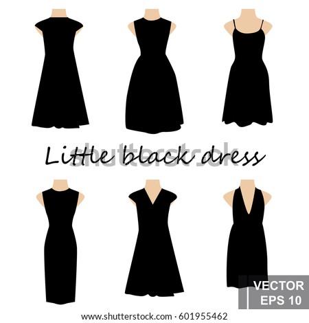 set little black dress for