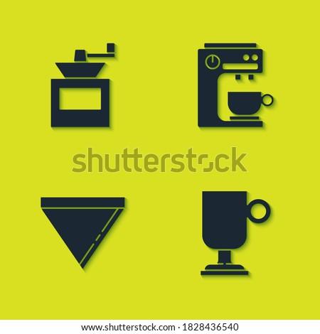 set manual coffee grinder