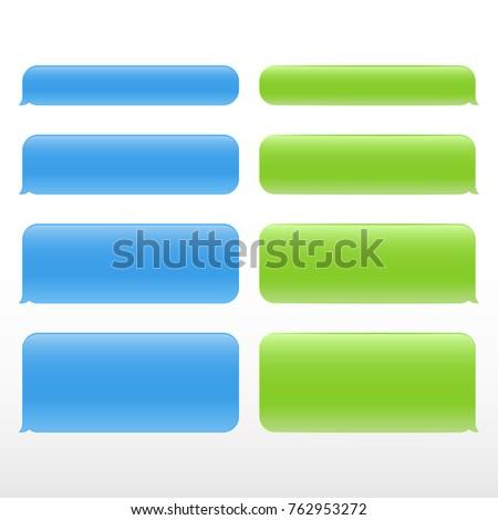 set message service bubbles