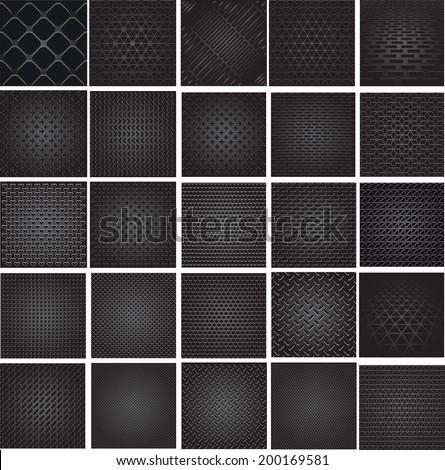 set metal grids