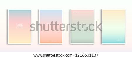 set modern gradients in