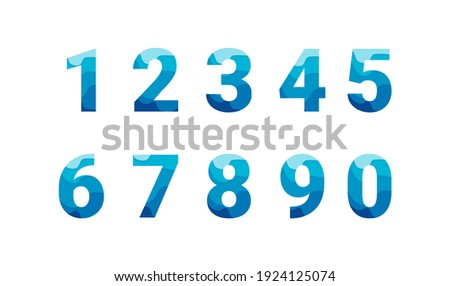 set number with colorful paper cut shapescollection. Unique collection for wedding invites decoration and other concept ideas. Stock photo ©