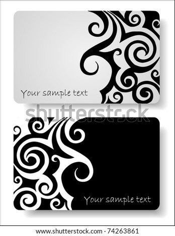 set of Abstract background for design